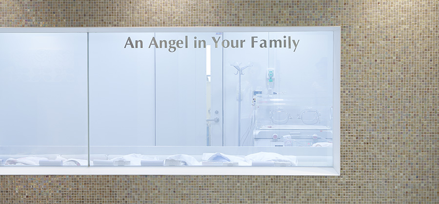新生児室と授乳室